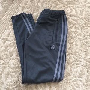 Adidas women's pants small gray
